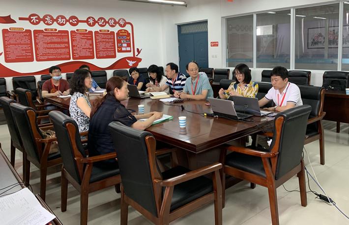 """学校开展""""中国特色高水平专业群""""网上备课检查工作"""